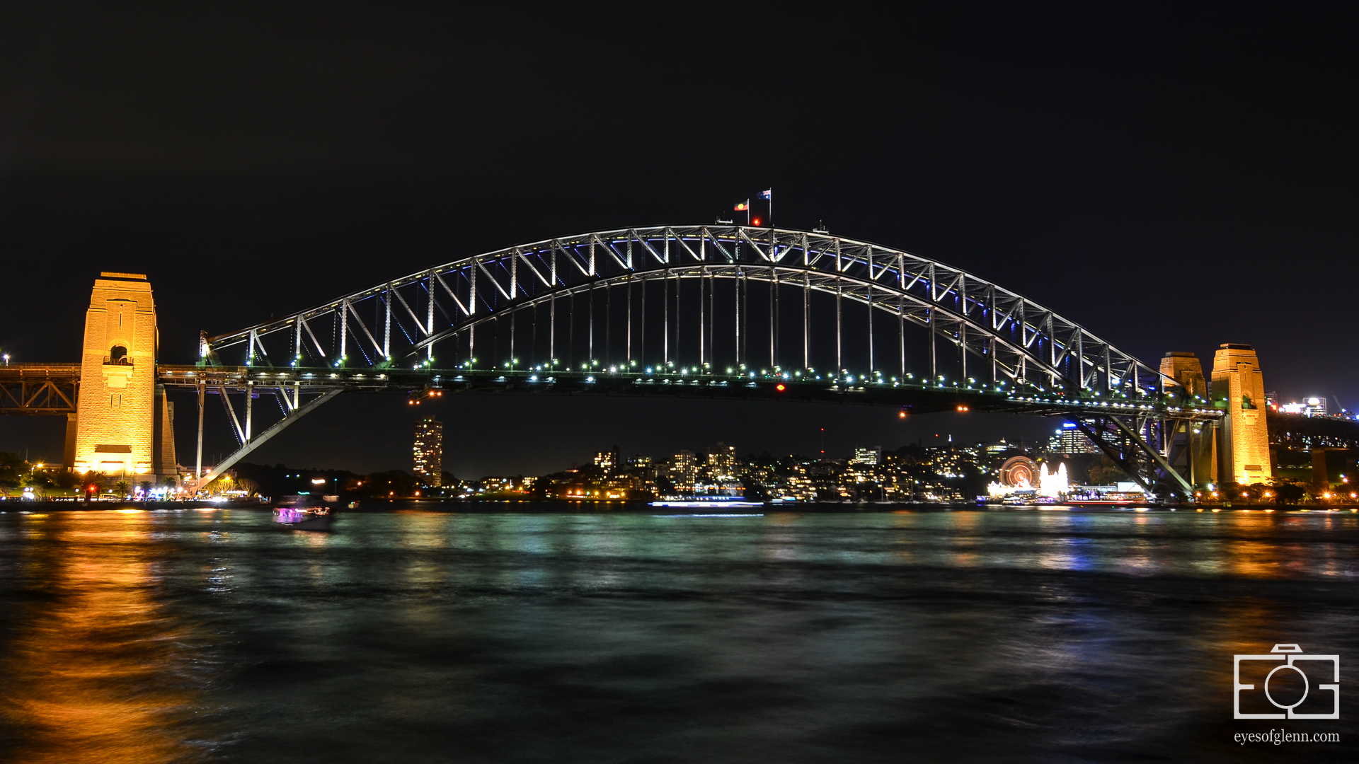 Harbour Bridge, Vivid Sydney 2013