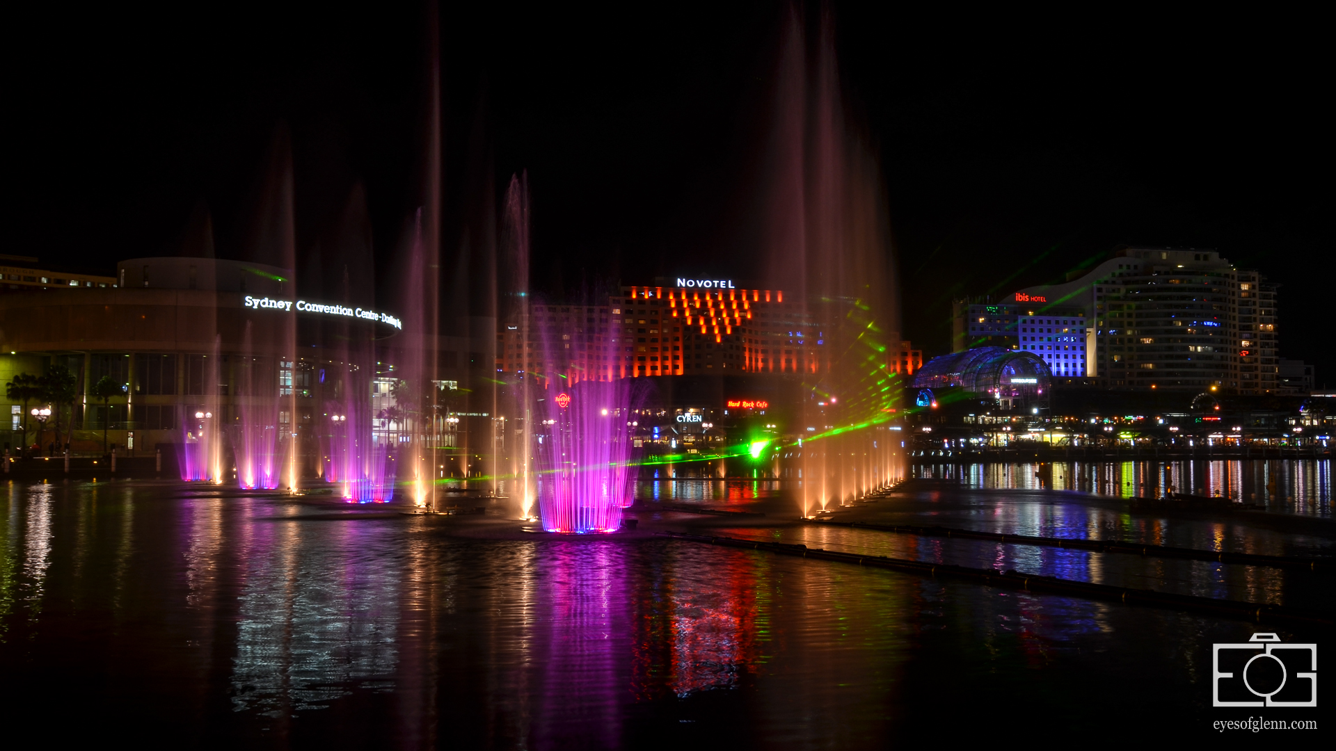 Darling Harbour, Vivid Sydney 2013